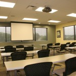 Conference Center Projector Screen